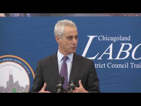 Mayor Emanuel Announces 40,000 More Jobs Planned During Next Phase Of Building a New Chicago