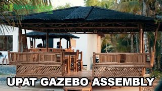 Bamboo Grove Furniture - Upat Gazebo Assembly