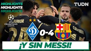Highlights | Dinamo 0-4 Barcelona | Champions League 2020/21-J4 | TUDN