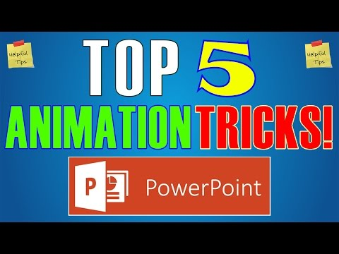 How to animate powerpoint presentation