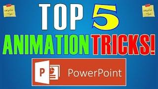 Top 5 des Effets d'Animation et Astuces dans Powerpoint 2016 - les Meilleurs Diaporama Hacks