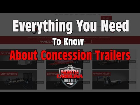 How To Choose The Best Concession Trailer