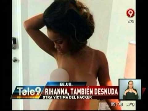 Rihanna, también desnuda: Otra víctima del hacker