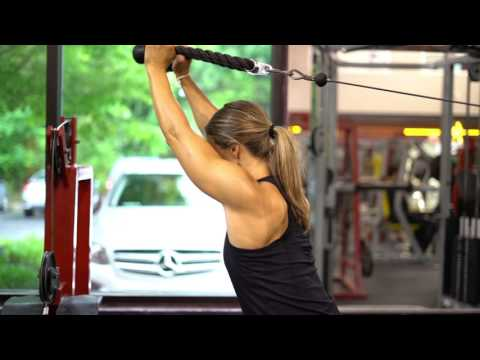 Cable Overhead Tricep Extensions
