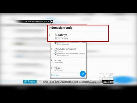 Peristiwa Bom Di Surabaya Jadi Perhatian Netizen Dunia