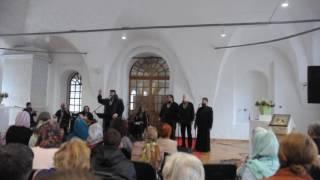 Фото Выступление ансамбля Ихтис Москва в Ново Иерусалимском монастыре 28 мая 2017