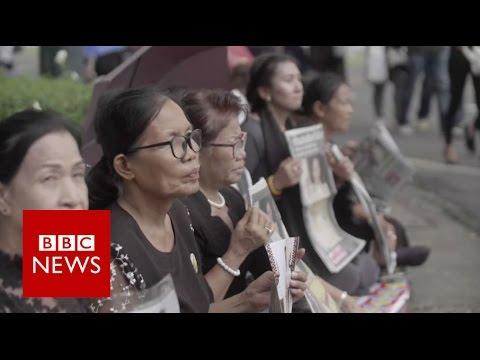Thailand mourns death of King Bhumibol Adulyadej - BBC News