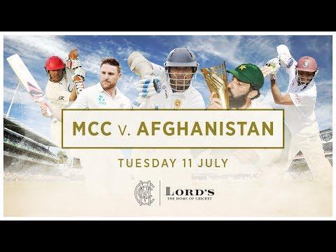 MCC v Afghanistan - McCullum, Sangakkara & Misbah-ul-Haq