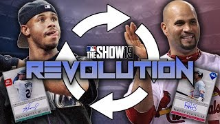 SO MANY SIGNATURE CARDS! Revolution #20! MLB The Show 19 Diamond Dynasty