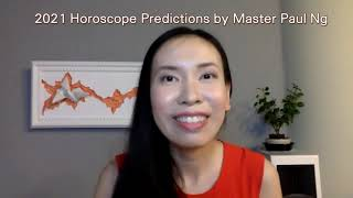 2021, Year of Metal OX, Zodiac Prediction, RABBIT people, Feng Shui Master, Paul Ng, Toronto, Canada