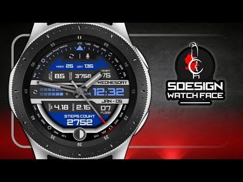 Sdesign Sports Watch Hand Premium 12/24 Hr