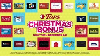TOPS Christmas Bonus 2017