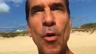 Apoio do ator Victor Fasano ao movimento #ÉaHoradoMar