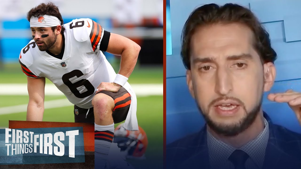 Baker Mayfield needs to go on a Dak Prescott trajectory –Nick explains   NFL   FIRST THINGS FIRST