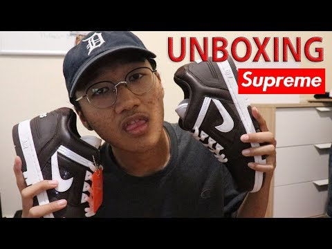 UNBOXING Supreme x Nike SB Air Force 2 + INFO GIVEAWAY