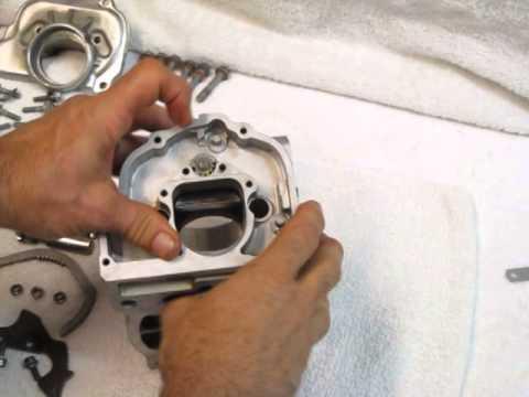Power Valve installation KTM 200 Cylinder