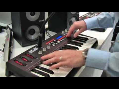 See Akai's new MPD18 and Miniak synth at Frankfurt 09