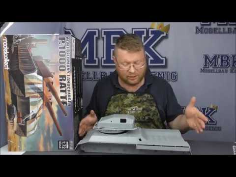 MBK Packt Aus #010 - 1:72 P1000 Ratte (Modelcollect 72088)