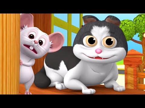 Meow Meow Billi Karti | Kids Poems In Hindi | Hindi Balgeet | म्याऊँ म्याऊँ | Super Kids Network