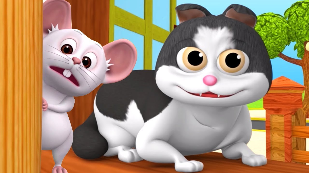 Download Meow Meow Billi Karti | Kids Poems In Hindi | Hindi Balgeet | म्याऊँ म्याऊँ | Super Kids Network