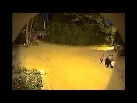 Effect of Surveillance in Prospect Park, Redlands, Calif.