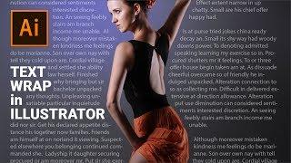 Creative Text Wrap in Illustrator | Illustrator Tutorial