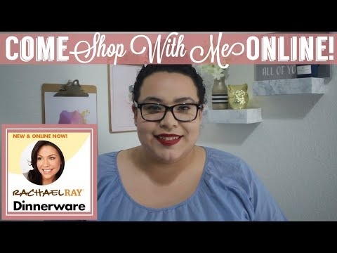 Dollar Tree Shop With Me Online | New Rachel Ray Dinnerware