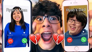 DO NOT CALL RYAN'S PARENTS (FROM RYAN'S WORLD) AT THE SAME TIME!! *THEY BROKE UP*