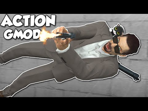 ACTION GMOD! - Garrys Mod Gameplay - Action Movie Addon & More!