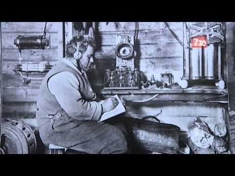 Sir Douglas Mawson's journey