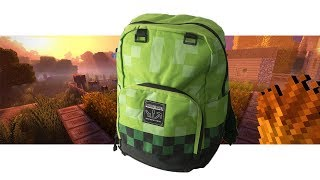 CREEPER ON YOUR BACK | Minecraft Backpack from Noisy Sauce Review