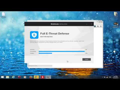 Get BitDefender Total security 2015 with genuine serial keys for FREE