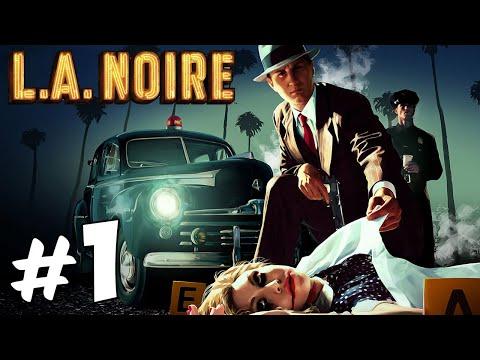 Прохождение L.A. Noire: Часть 1 - Юные полицейские