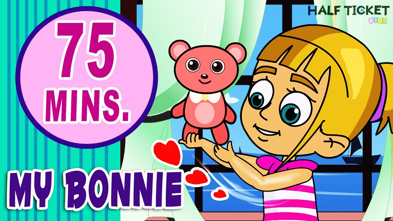 My Bonnie Lies Over The Ocean Nursery Rhymes Compilation 52 Por For Kids