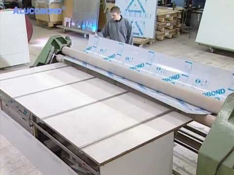 Alucobond Bending Process Youtube