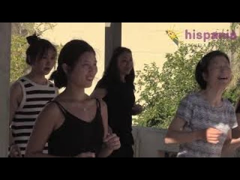 Practica deporte y baile en Hispania, escuela de español