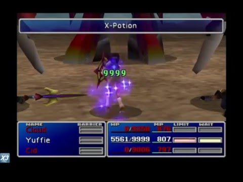 ff7 how to defeat emerald and ruby weapons without kotr final attack phoenix or dazers youtube. Black Bedroom Furniture Sets. Home Design Ideas