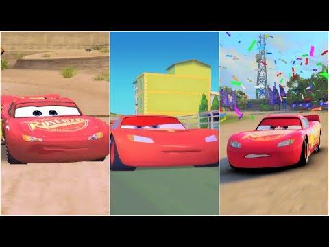Cars 1 vs Cars 2 vs Cars 3 Lightning McQueen - 동영상