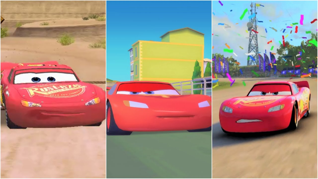 cars 1 vs cars 2 vs cars 3 lightning mcqueen youtube. Black Bedroom Furniture Sets. Home Design Ideas