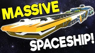 MASSIVE SPACESHIP, BUGATTI, OFFROAD JEEP! - Scrap Mechanic Creations Gameplay - Best Builds
