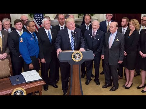President Trump: Appoints Executive Secretary of the National Space Council.