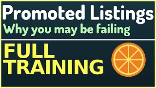 Etsy Promoted Listings Strategy (FULL TRAINING)