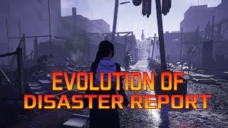 Graphical Evolution of Disaster Report (2002-2018)