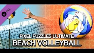 """Pixel Puzzles Ultimate - Puzzle Pack: Beach Volleyball - """"GRÁTIS DLC STEAM"""""""