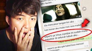 (PART 1) IBU BAPAKU JADI ZOMBIE 😱 | Chat History Horror Terseram Indonesia