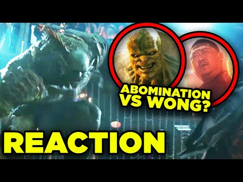 Shang-Chi Trailer REACTION! Abomination vs Wong Explained!