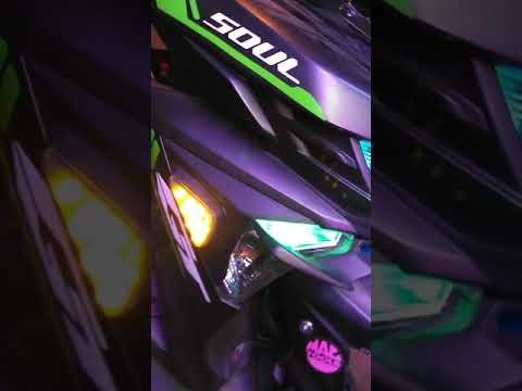Yamaha Mio Soul I Double Contact Signal Light Youtube