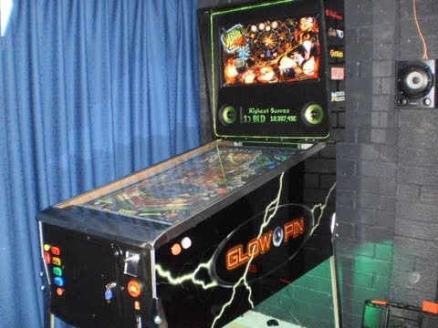 Visual Pinball Cabinet Glow Pin Youtube