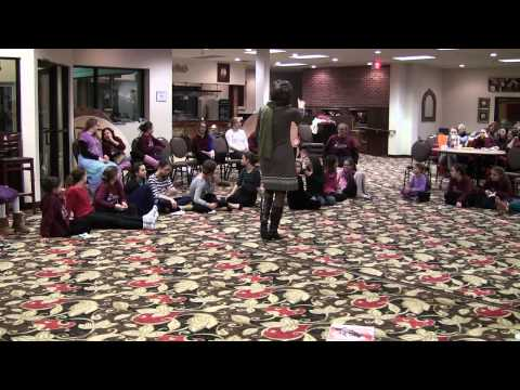 Susan Axelrod Speaks to Campers at the Jewish Girls Retreat | Winter 2013