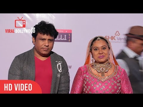 Neelu Vaghela At Dadasaheb Phalke Awards 2018 | Viralbollywood